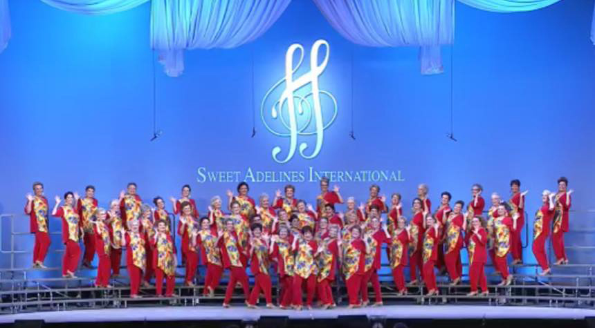Grand Rapids Sweet Adeline's have competed internationally six times in the chorus' 65 year history.