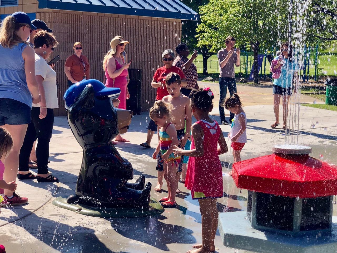 Aberdeen Park Splash Pad