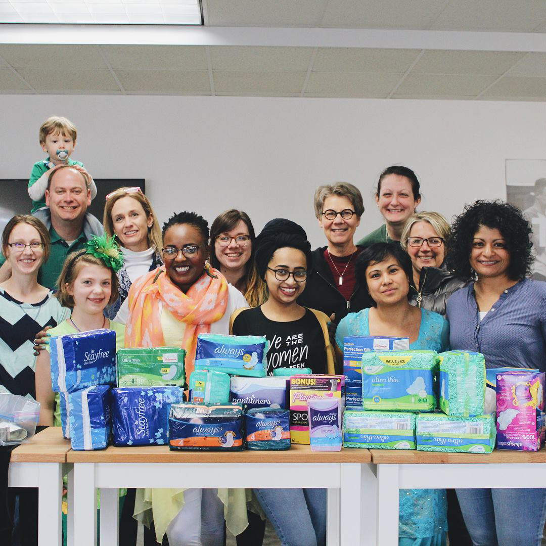 Nonprofit Be a Rose focuses on access to women's healthcare and feminine hygiene products.