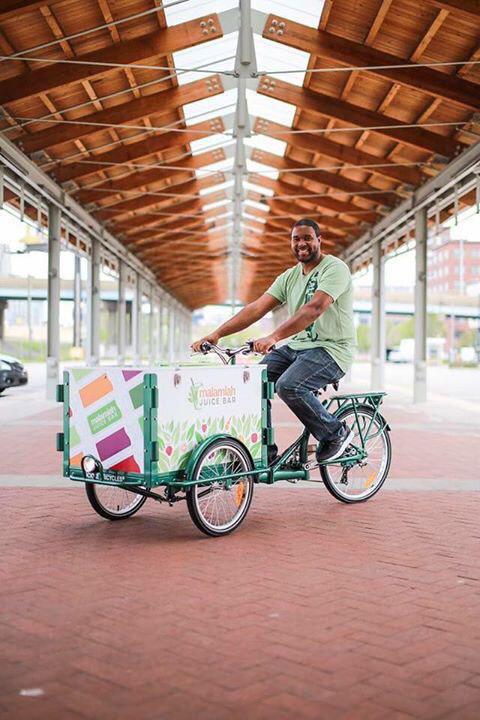 Jermale Eddie is always looking for ways to bring Malamiah Juice to his customers.
