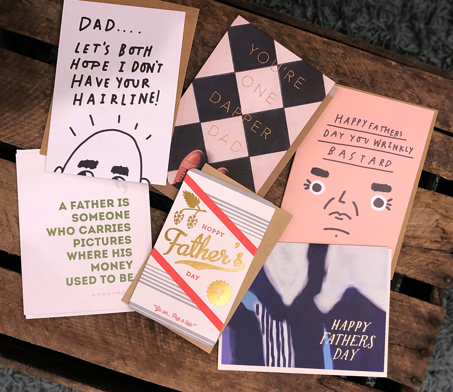 Father's Day cards from The Paper Studio