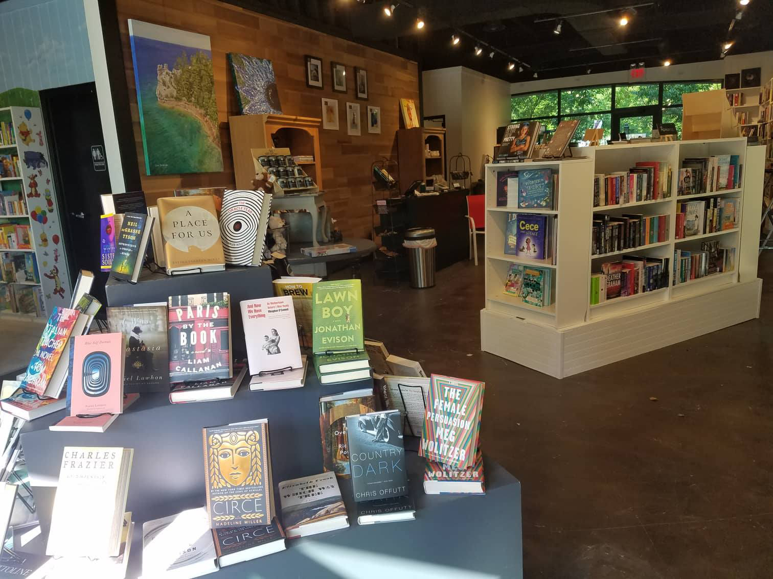 Epilogue Books in Rockford.