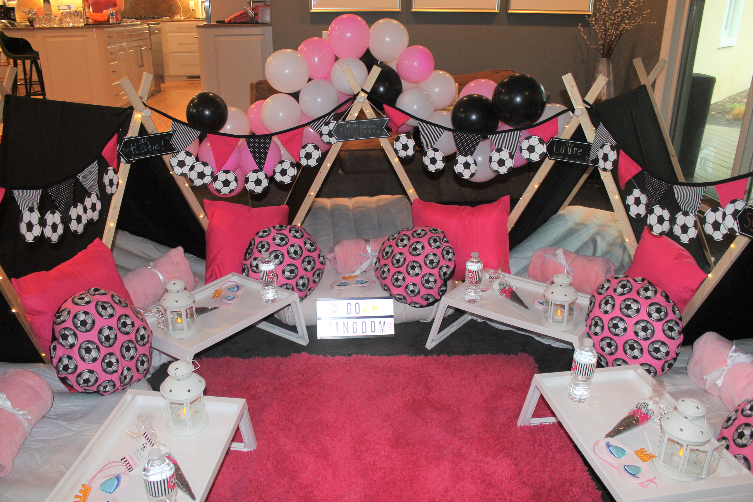 Little Dreamers soccer themed party.