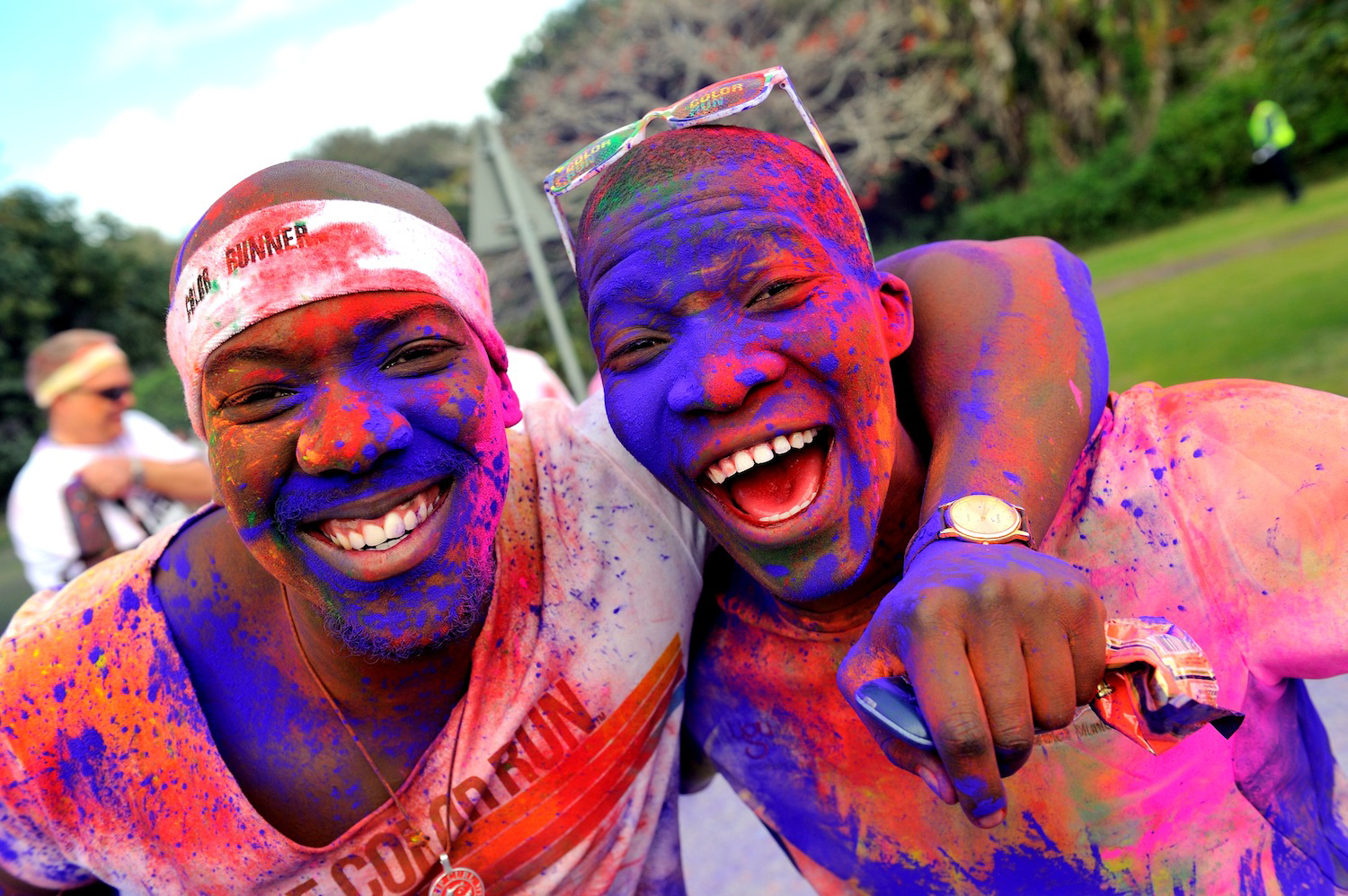 The Color Run runners