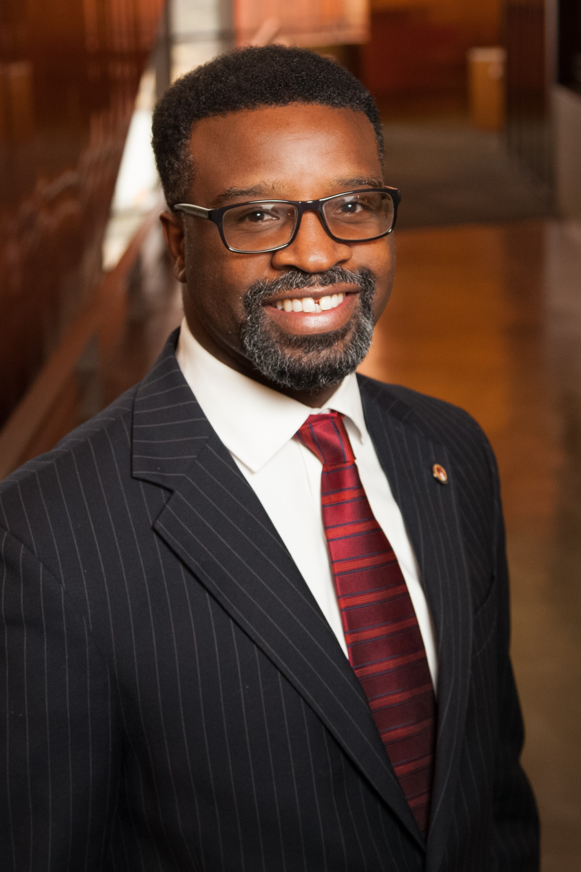 New Grand Rapids City Manager Mark Washington, Photo courtesy of City of Austin, 2017.
