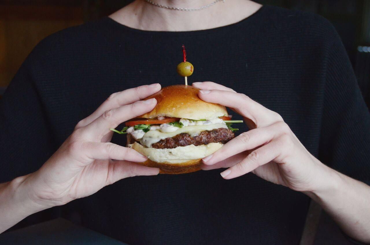 Olive's Olive Burger