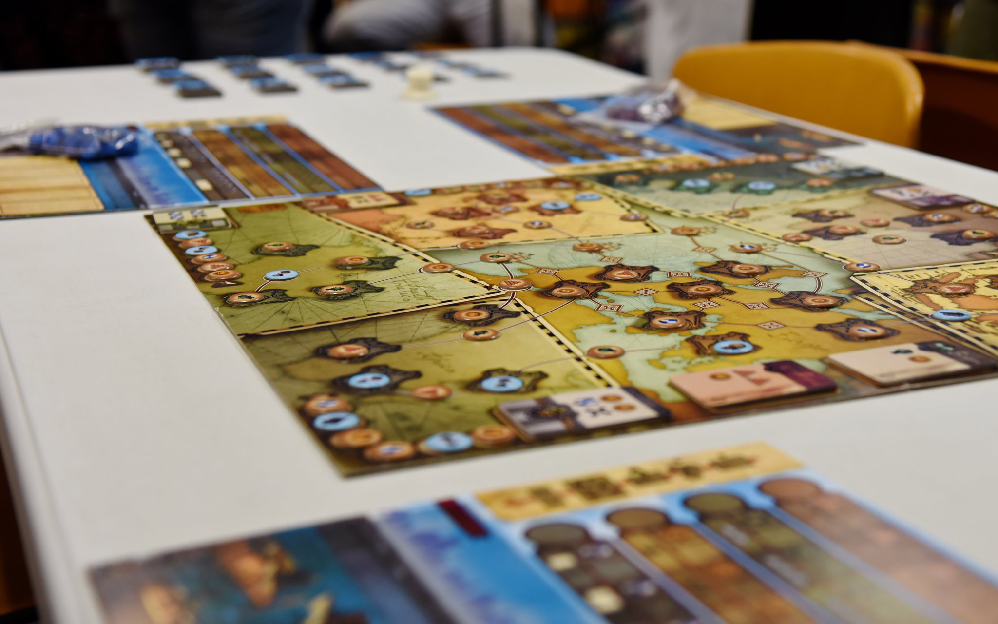 Grand Gamers Guild produces board games for hours of fun.