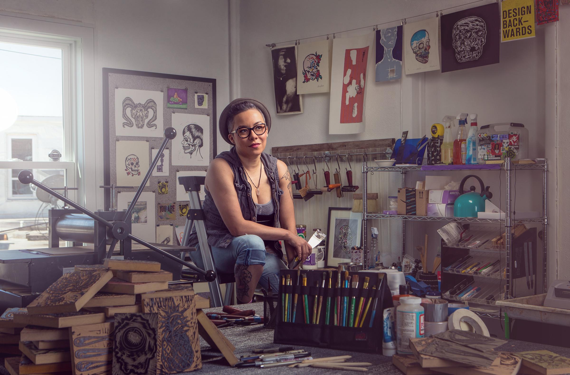 Artist Kimberly LaVon