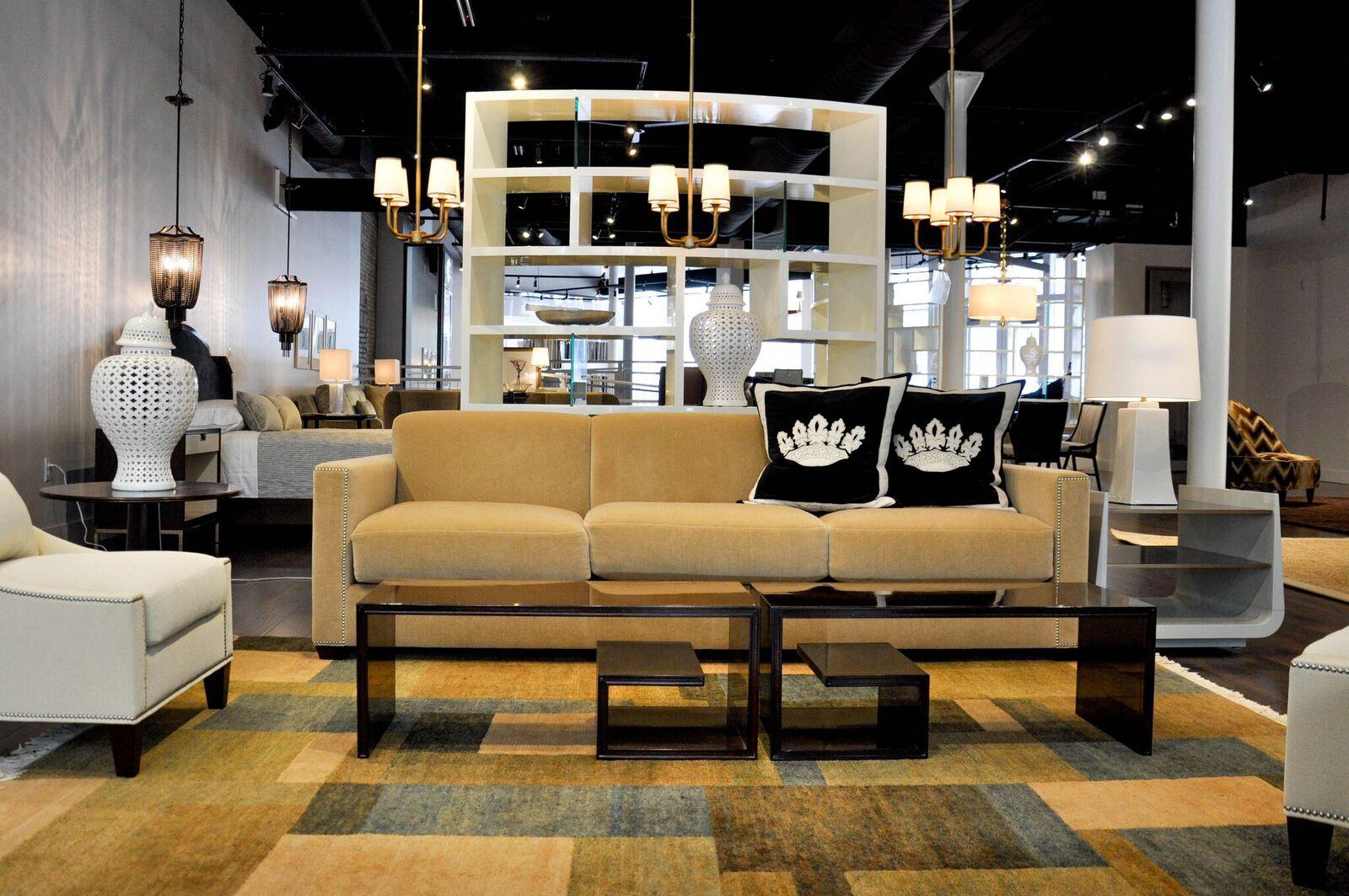 Rodolfo Gonzales Interior Design Grand Rapids showroom.