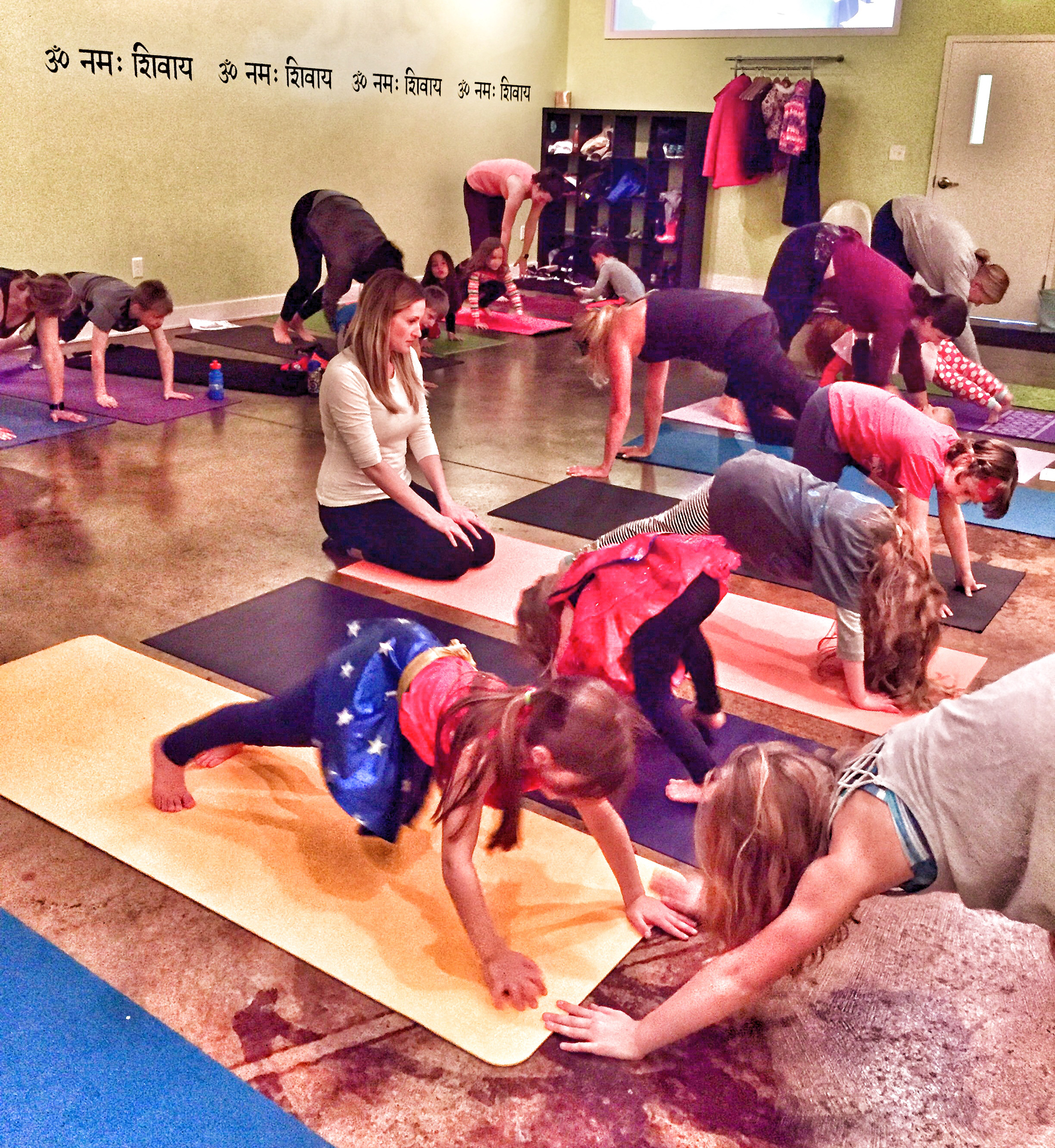 Seva Yoga previously offered a superhero themed class for kids.