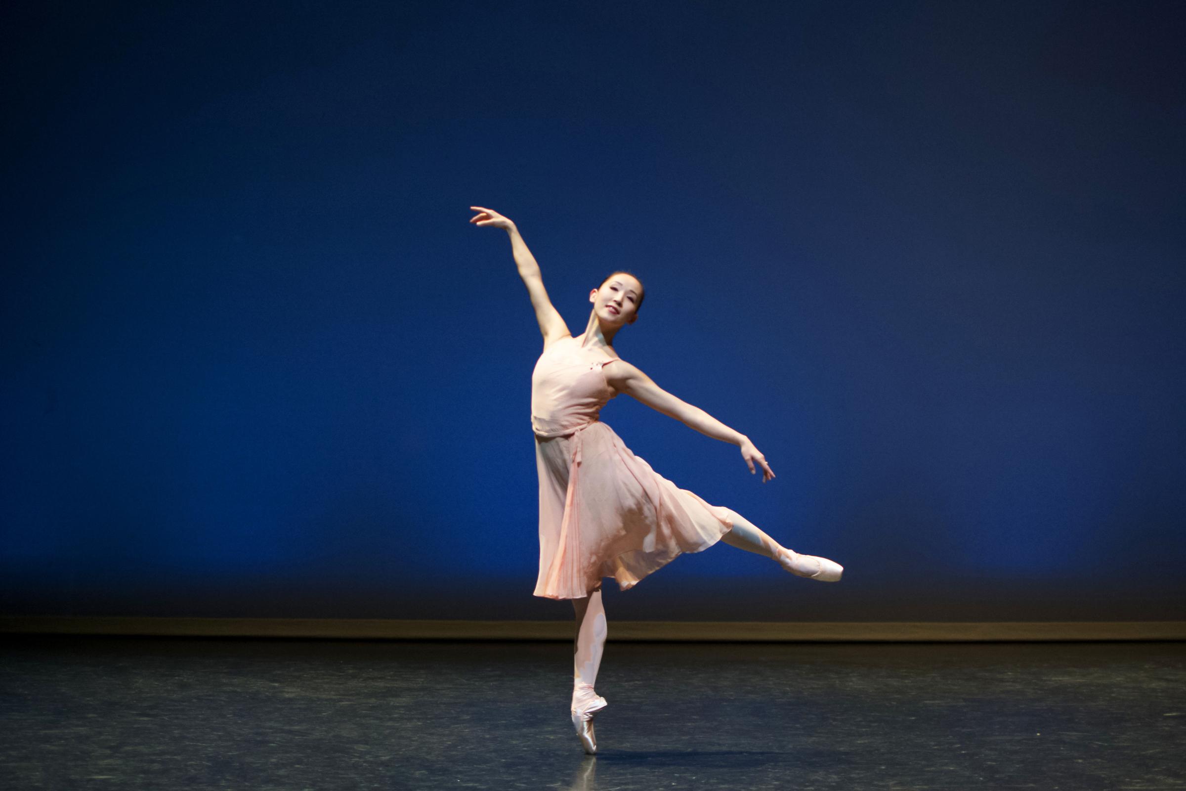 Grand Rapids Ballet dancer Yuka Oba in