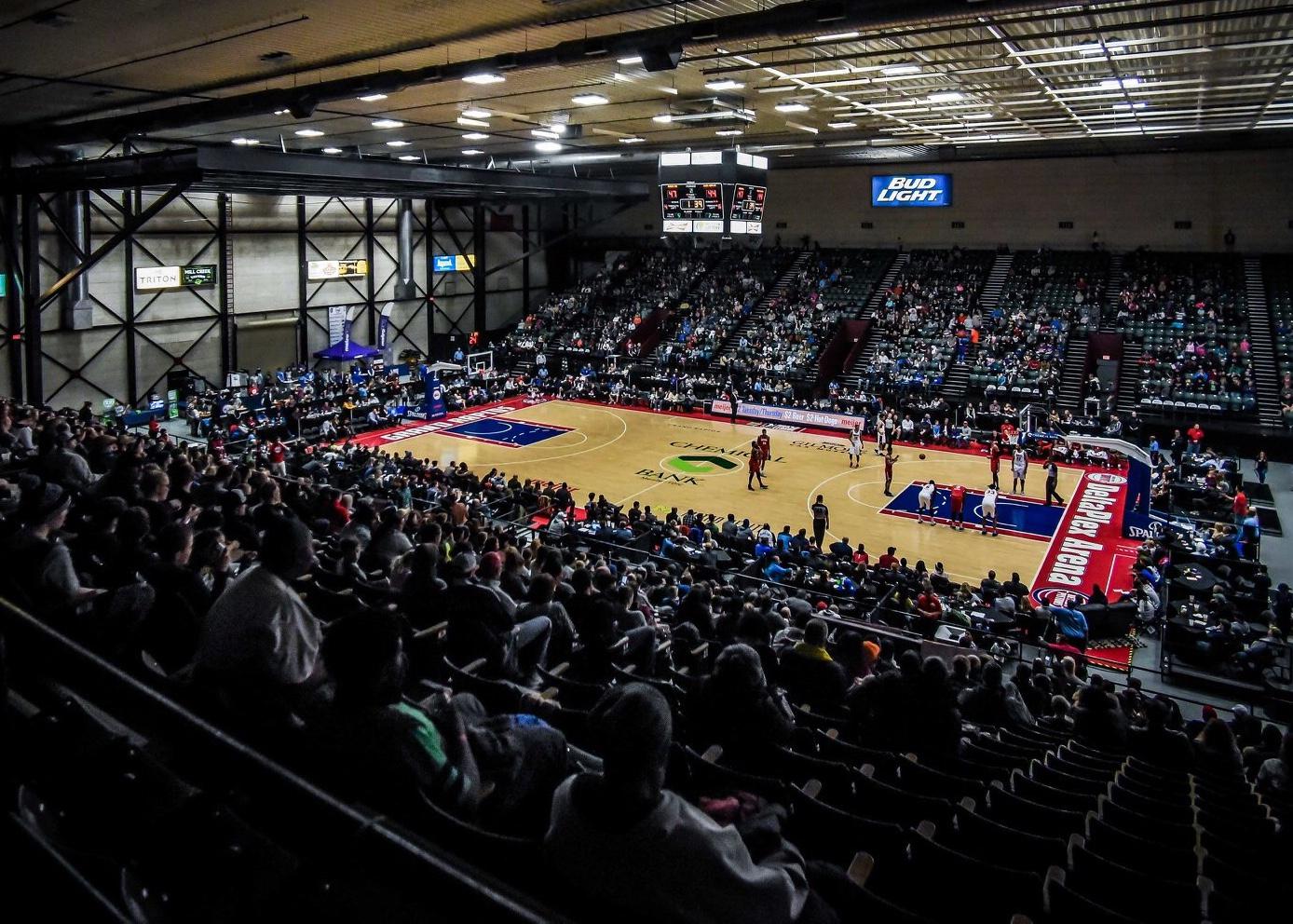 Grand Rapids Drive full arena. Photo courtesy of Grand Rapids Drive.