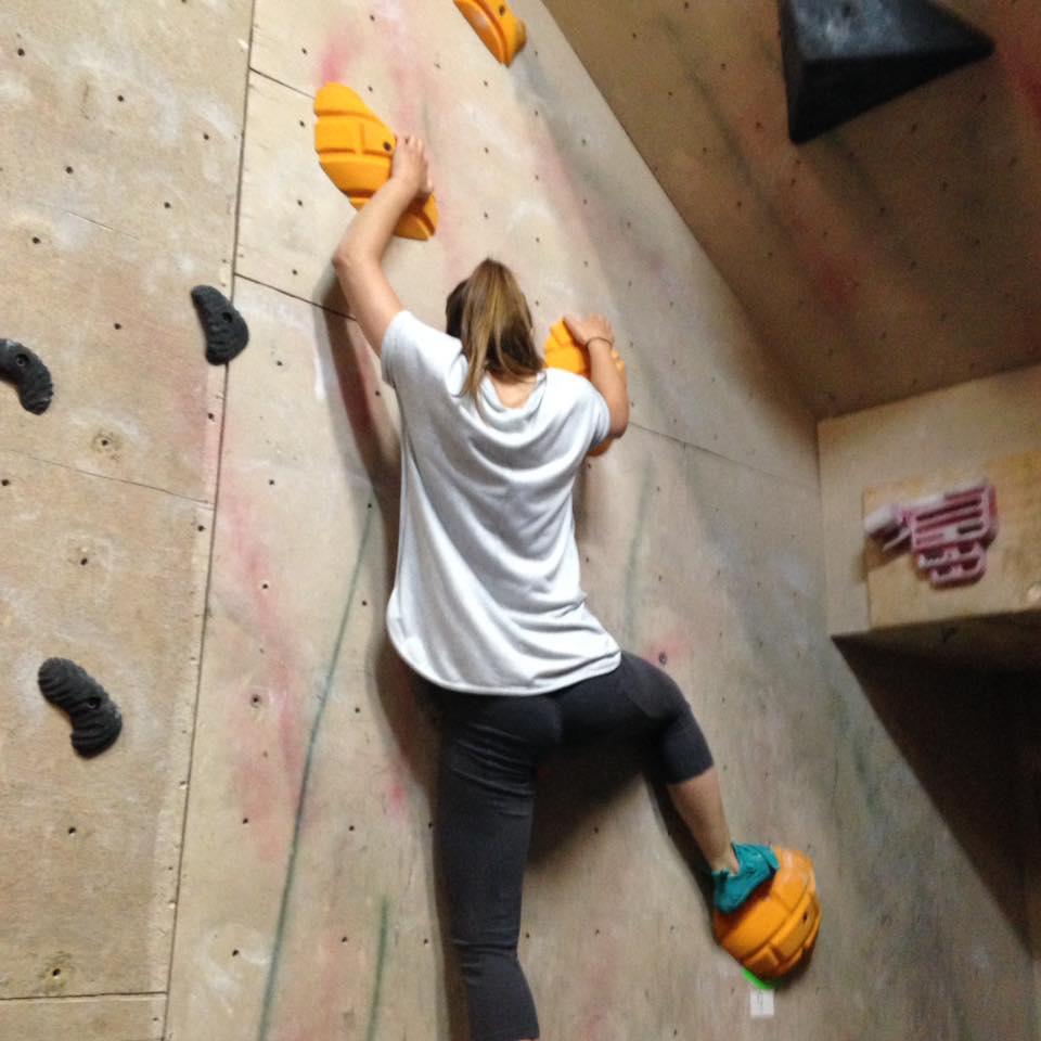 Higher Ground rock climbing & bouldering gym.