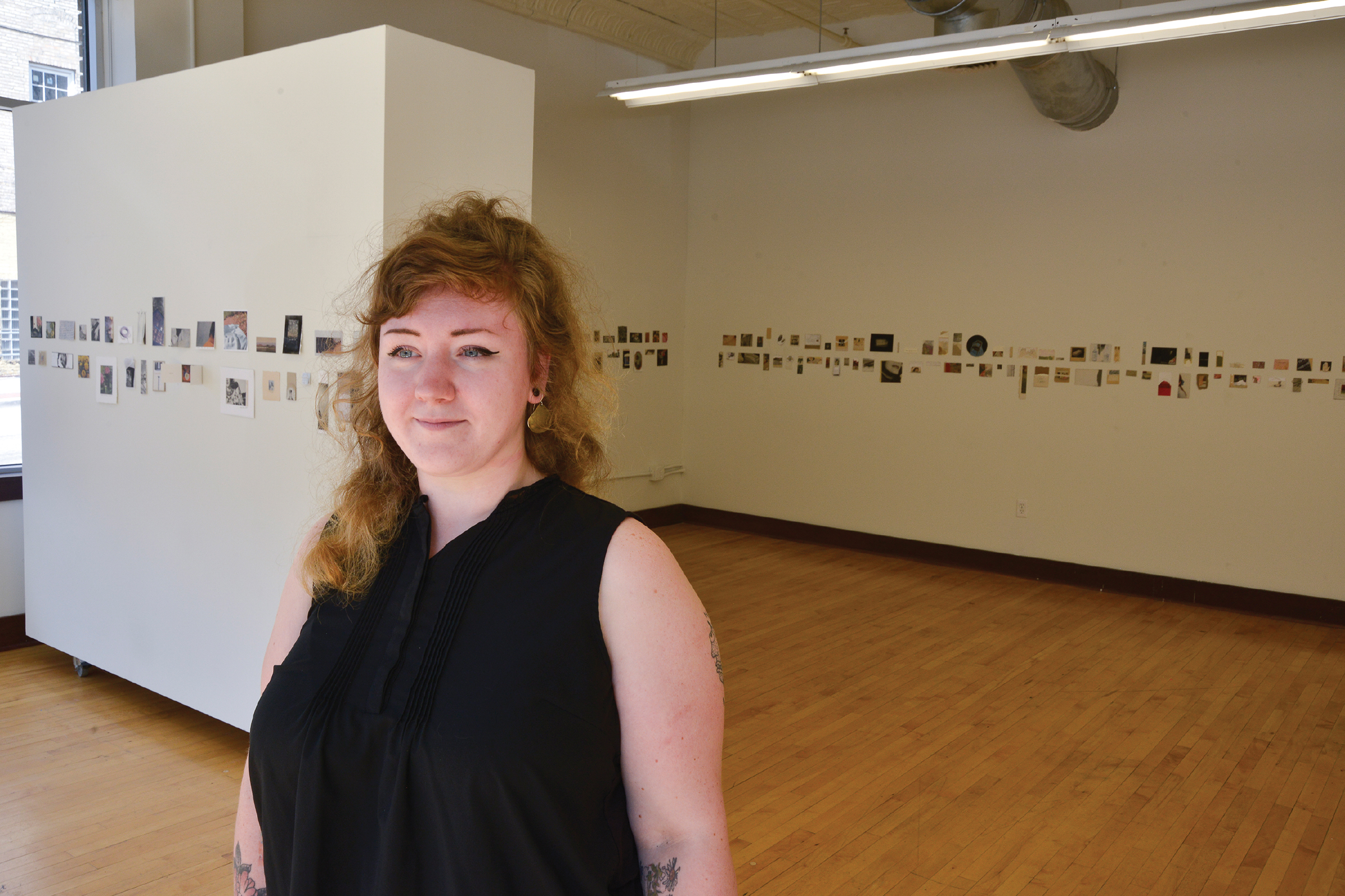 Artist & gallery owner Madison May