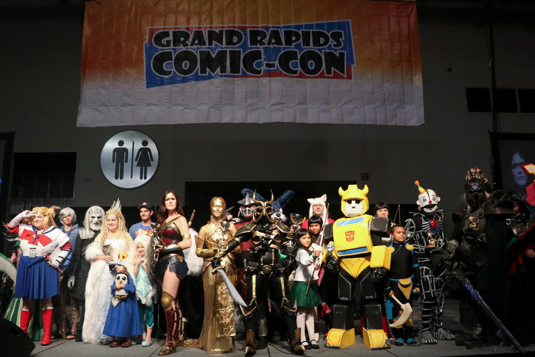 Grand Rapids Comic Con. Photo by Jacky Petters Photography.