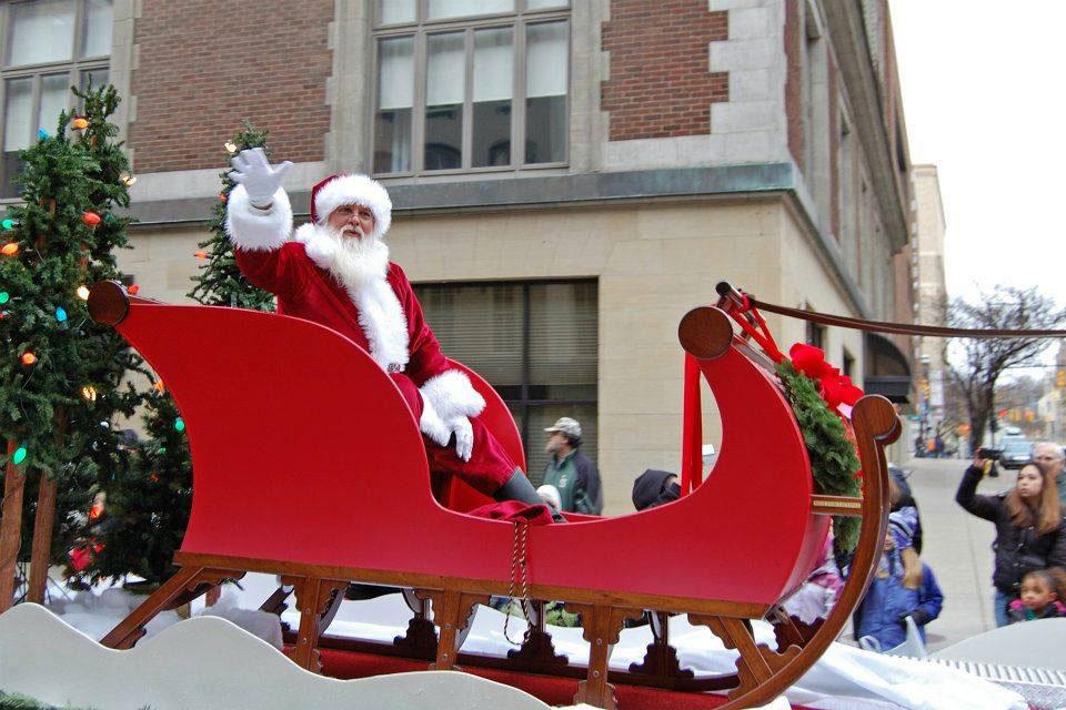 Grand Rapids Santa Parade