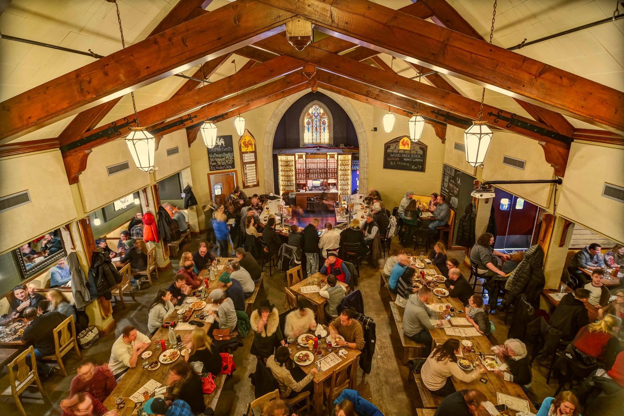 Brewery Vivant brewpub interior