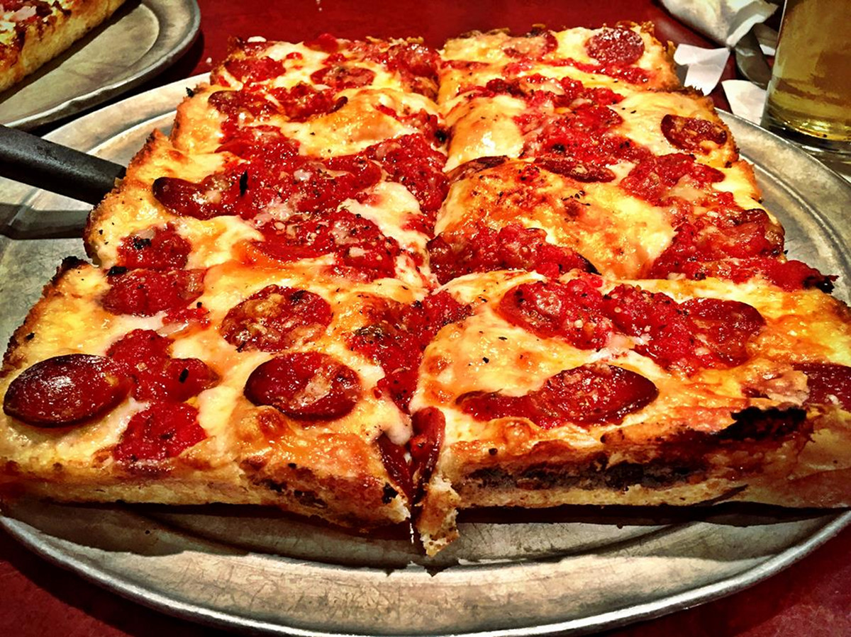 Buddy's pepperoni pizza