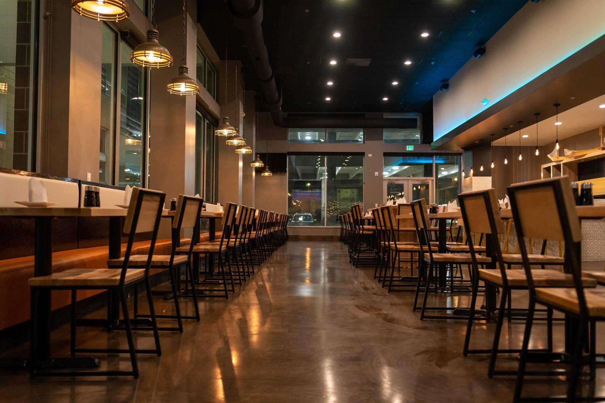 Ginza Sushi & Ramen Bar interior