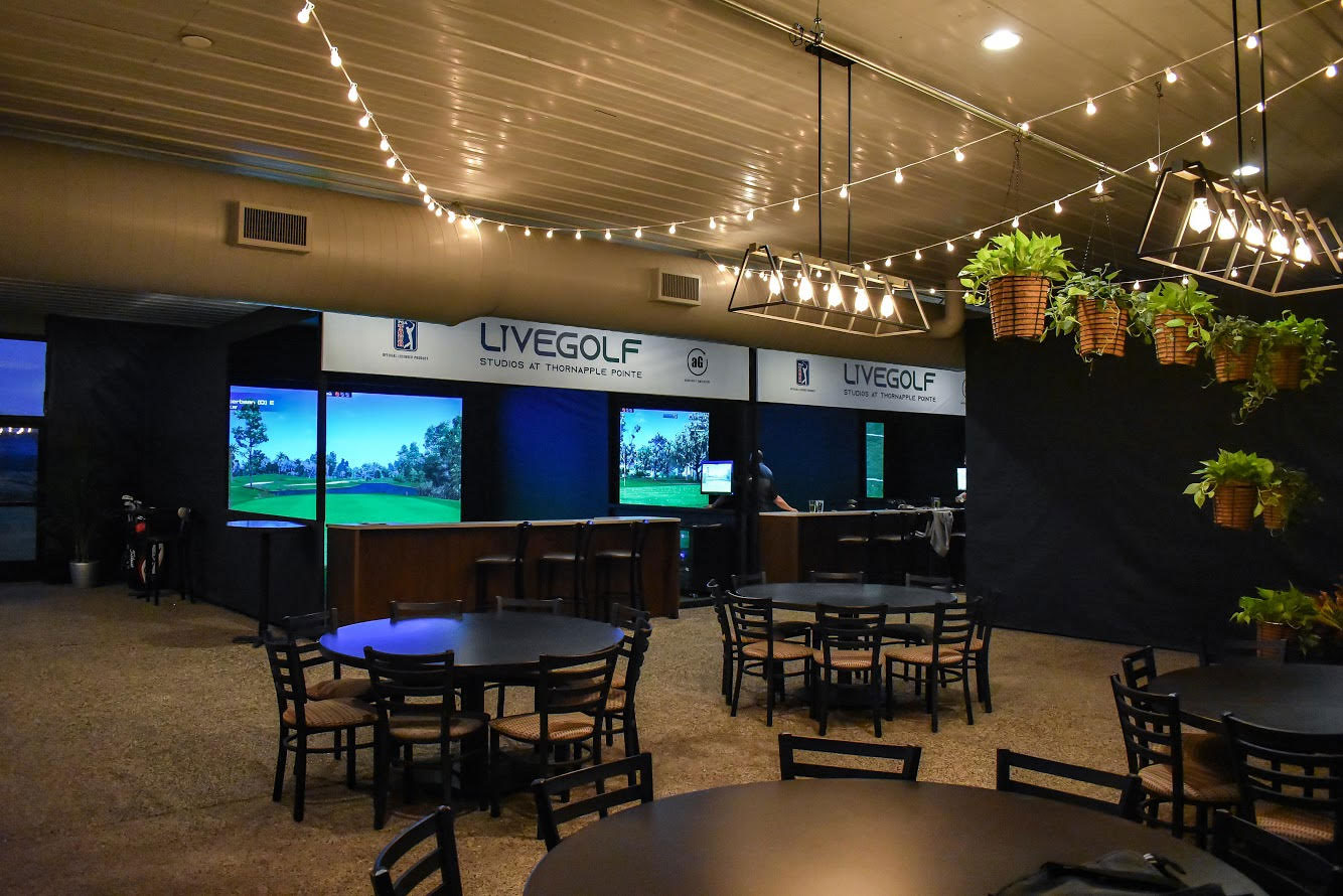 Thornapple Pointe Live Golf Studios