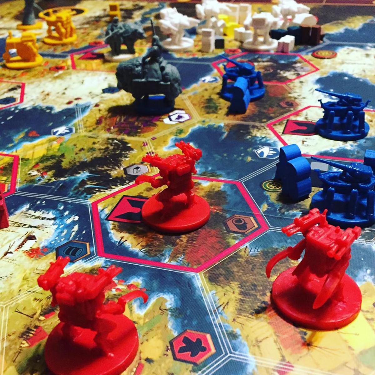 Blue Bridge Games tabletop game Scythe