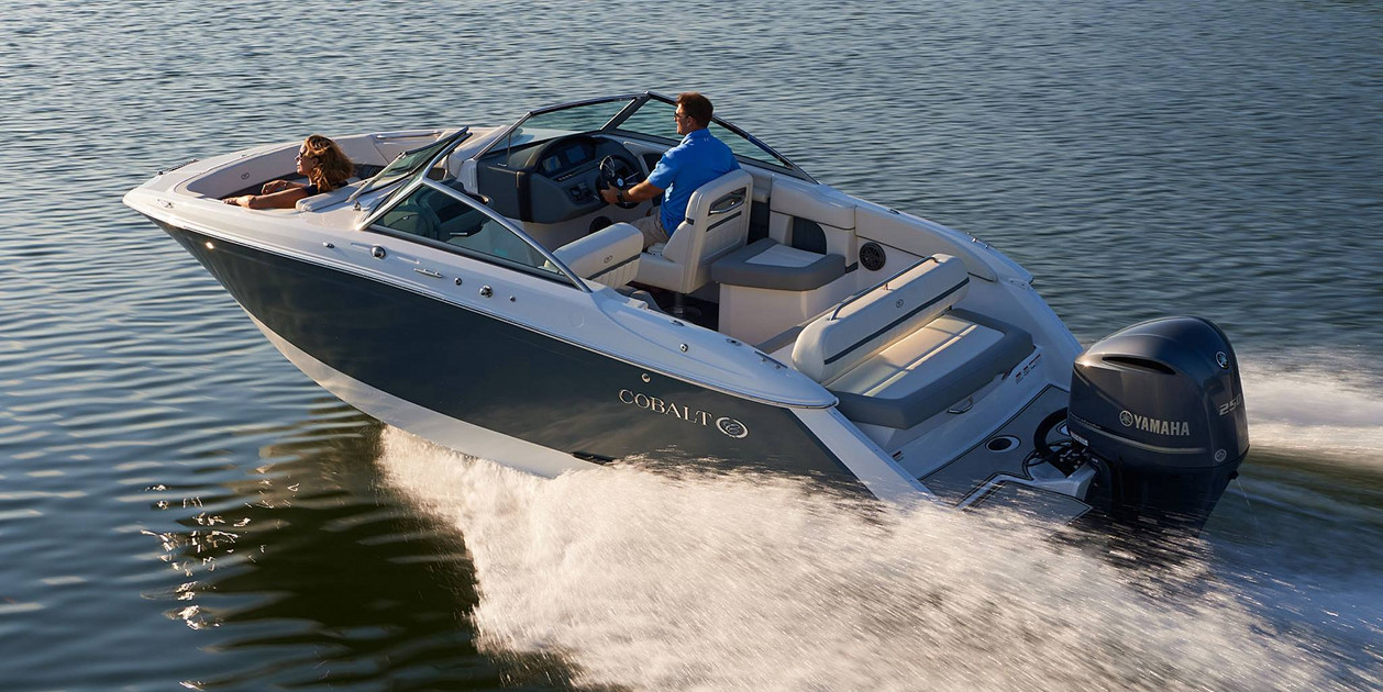 Grand Rapids Boat Show Cobalt boat