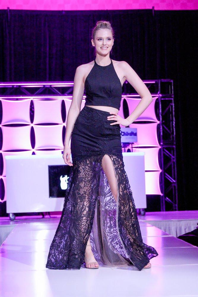 Little Black Dress Party 2018 Grand Rapids model