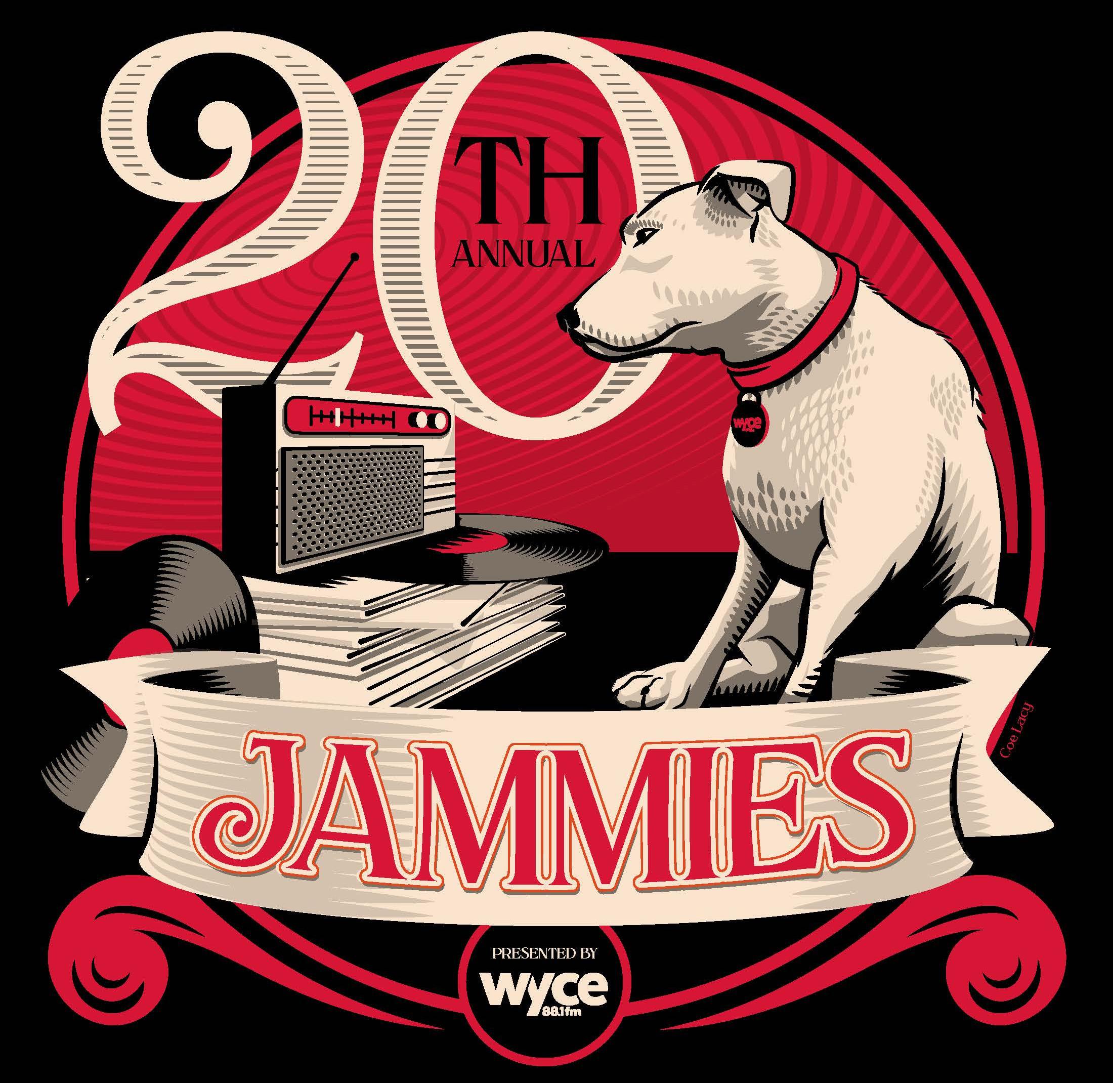 WYCE Jammies XX logo