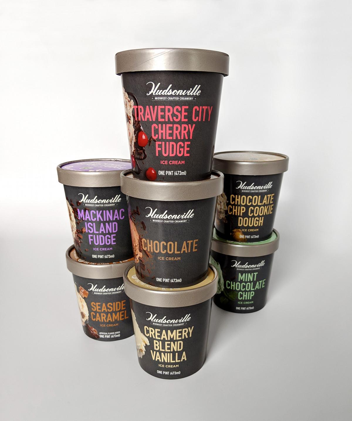 Hudsonville Ice Cream pint flavors