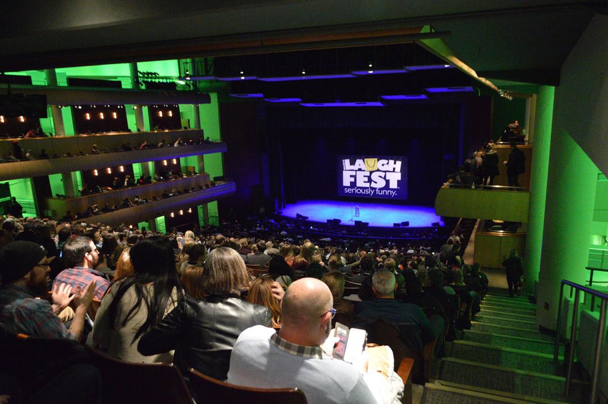 LaughFest 2018 DeVos Performance Hall John Mulaney pre-show