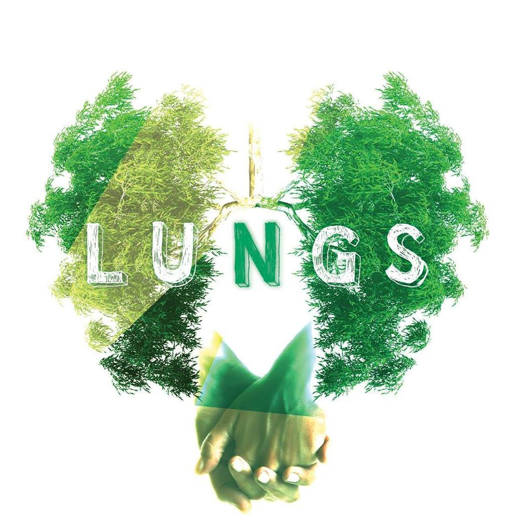 Lungs logo play Actors' Theatre