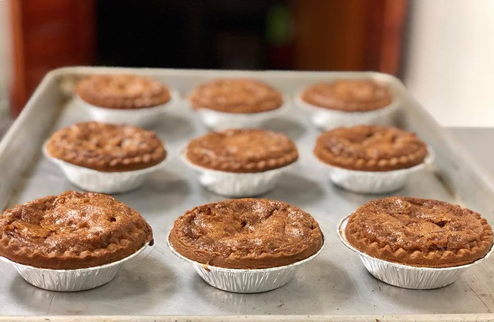The Candied Yam tartlets