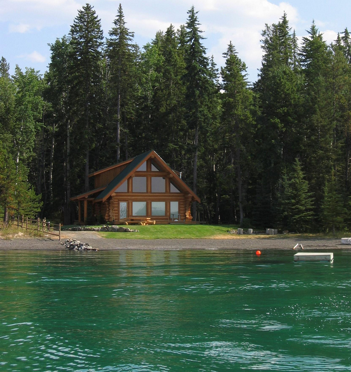 lake cottage cabin
