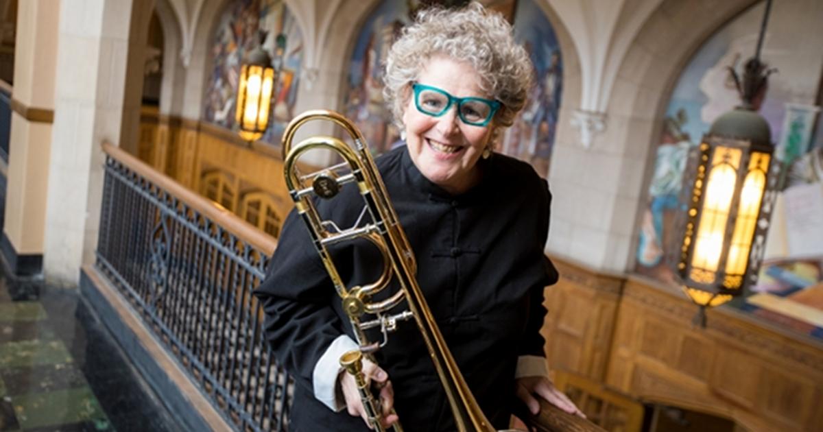 Ava Ordman trombonist