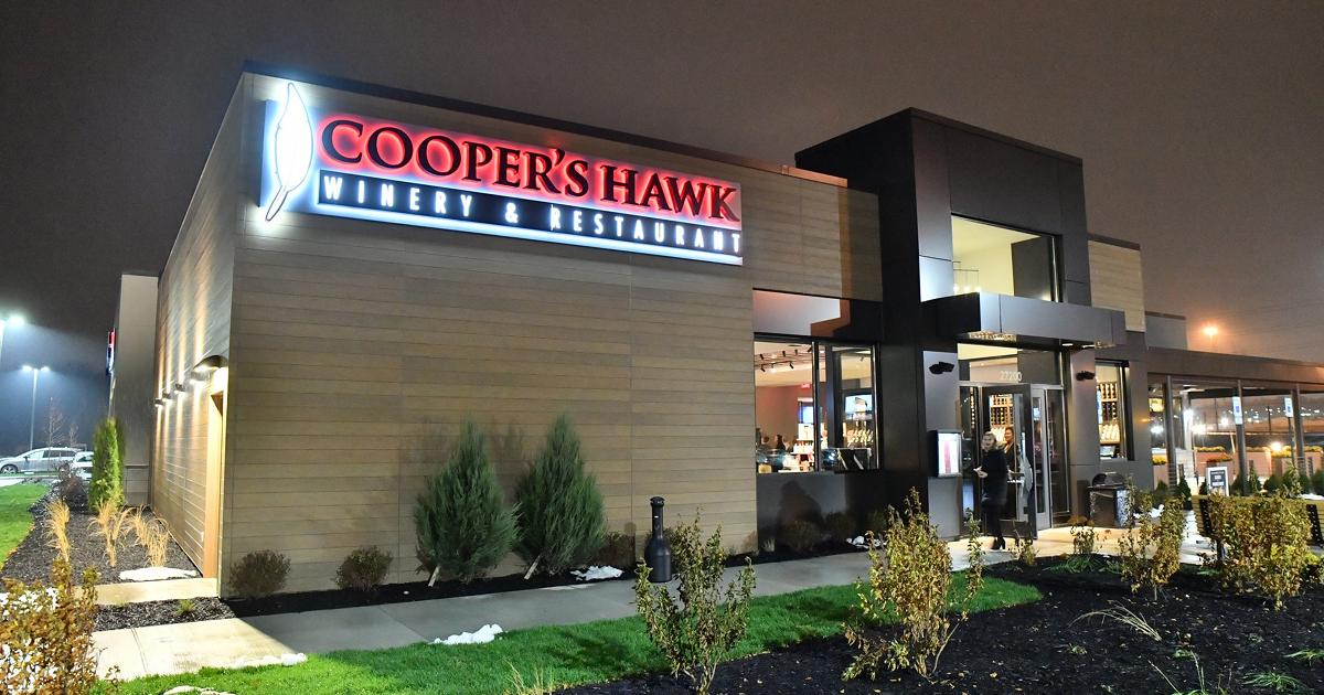 Cooper's Hawk Winery & Restaurant exterior