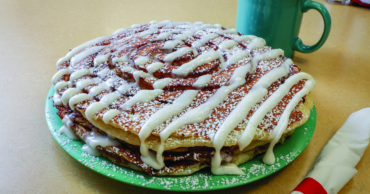 Real Food Cafe pancakes