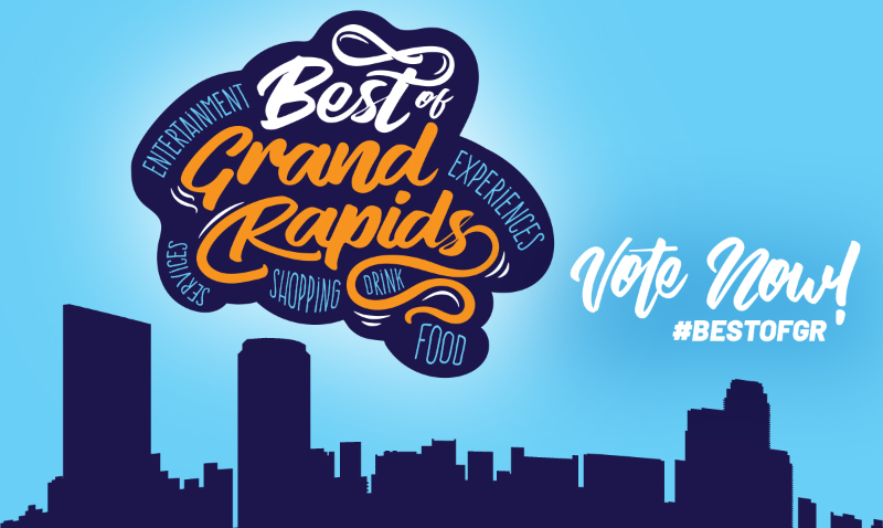 2019 Best of Grand Rapids banner