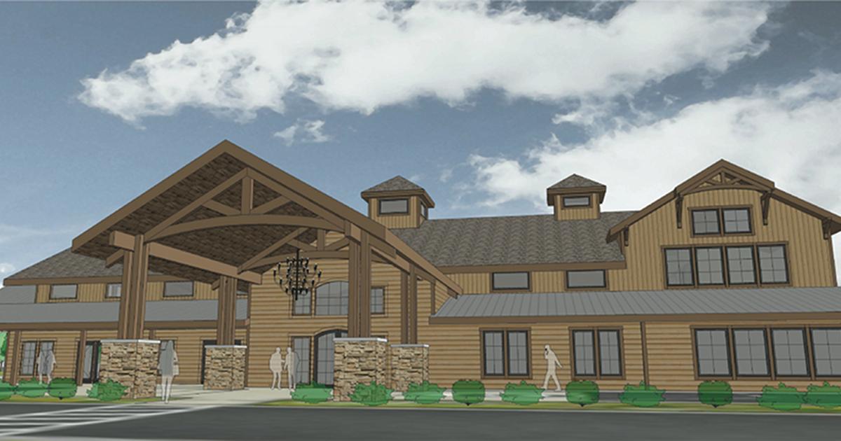 Black River Barn exterior rendering