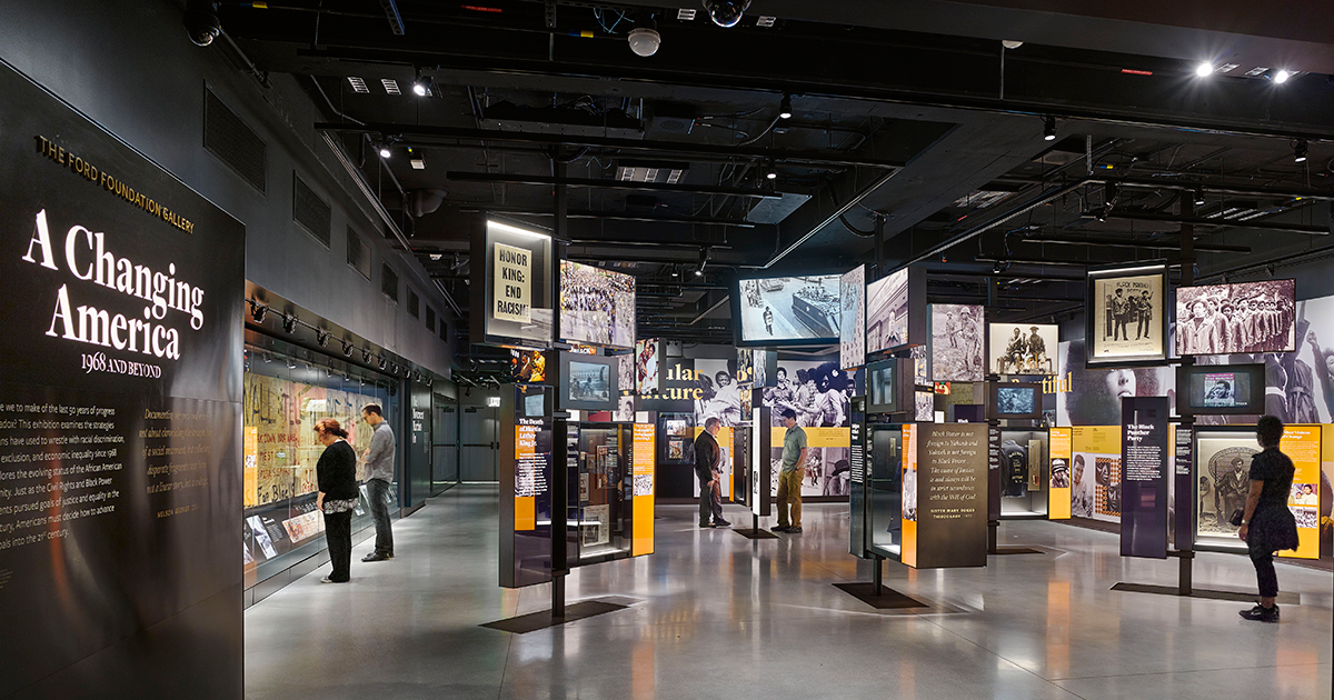 Changing America exhibit National Museum of African American History & Culture