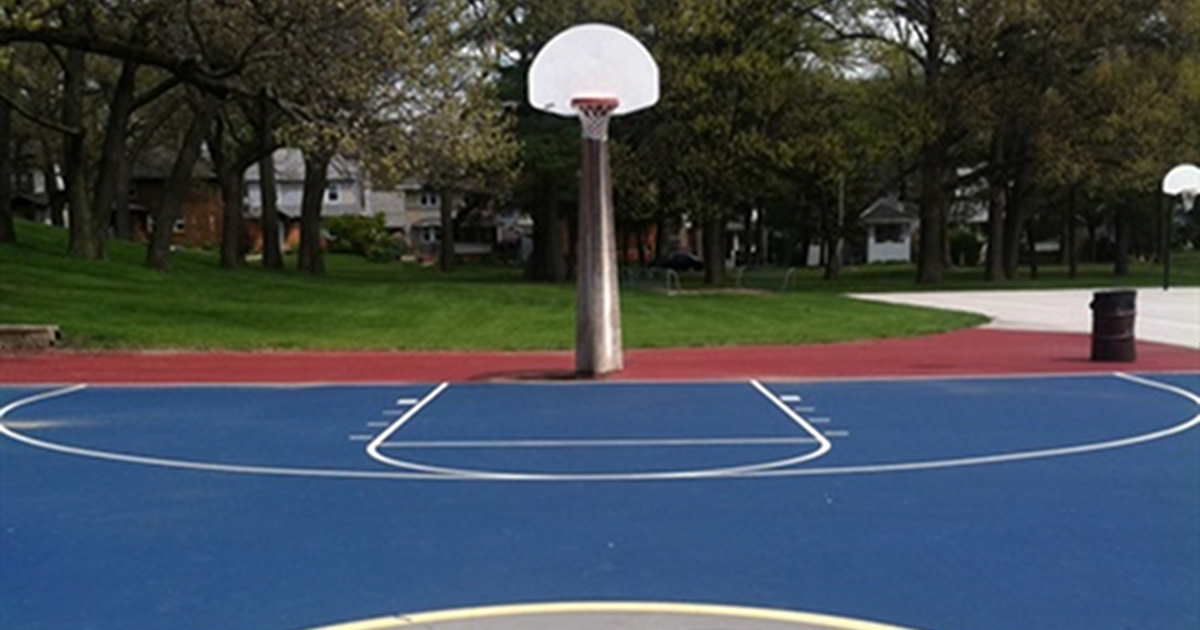 Martin Luther King Jr. Park Grand Rapids basketball court