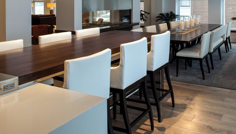 Via Design - Long dining table