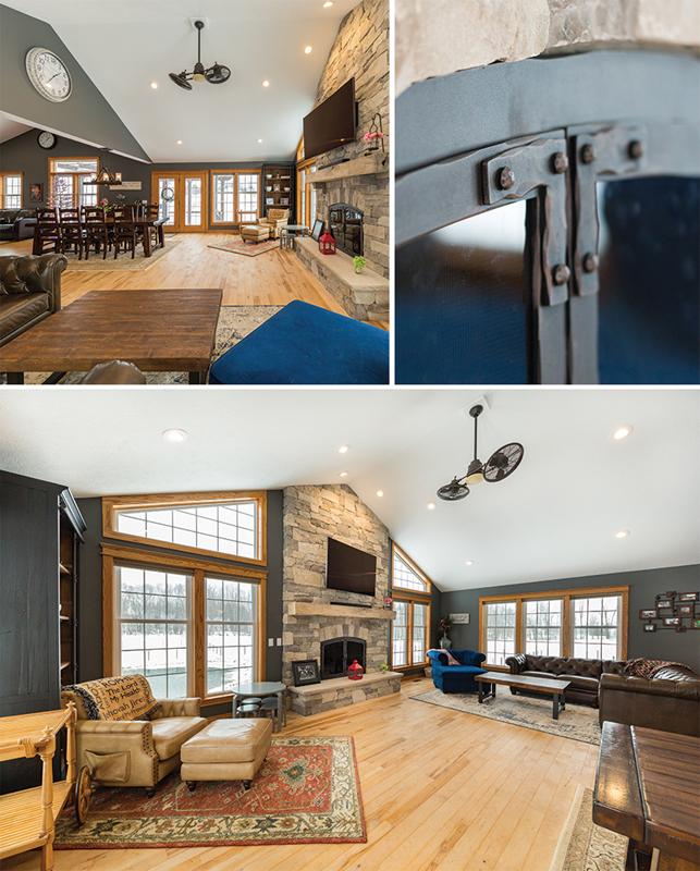 dreammaker living room collage