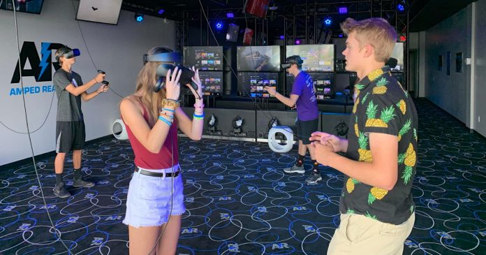 Amped Reality VR center wide