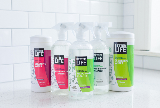 Better Life natural cleaning products made in Grand Rapids.