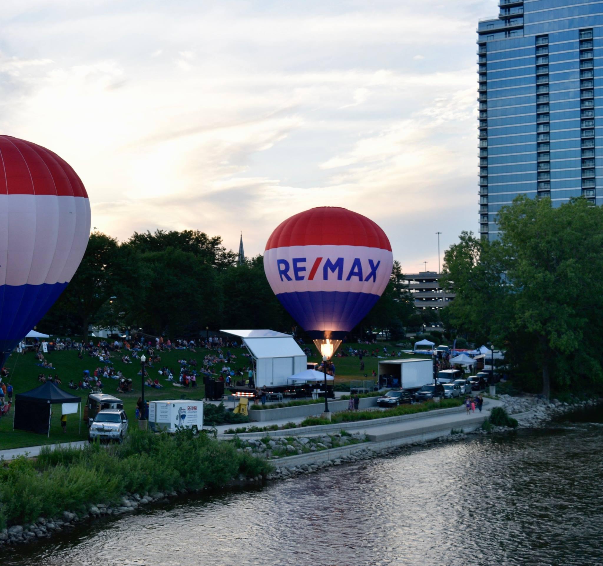 Grand Rapids Balloon Festival Picnic in the Park