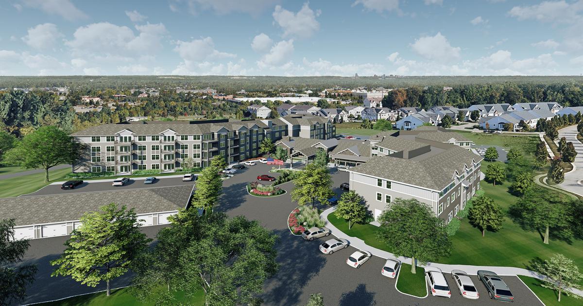 Rivertown Ridge aerial rendering