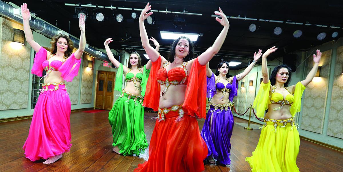 Sarah Mayne at ShimmyUSA dance studio