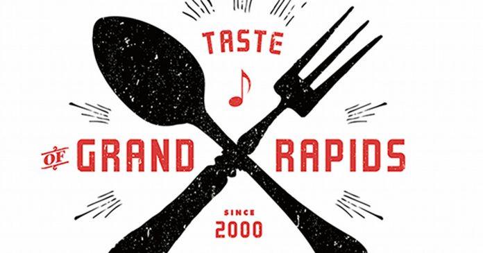 Taste of Grand Rapids 2019 logo partial