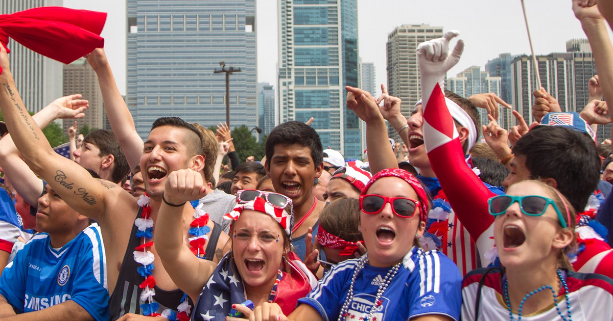 Women's World Cup USWNT watch party Chicago