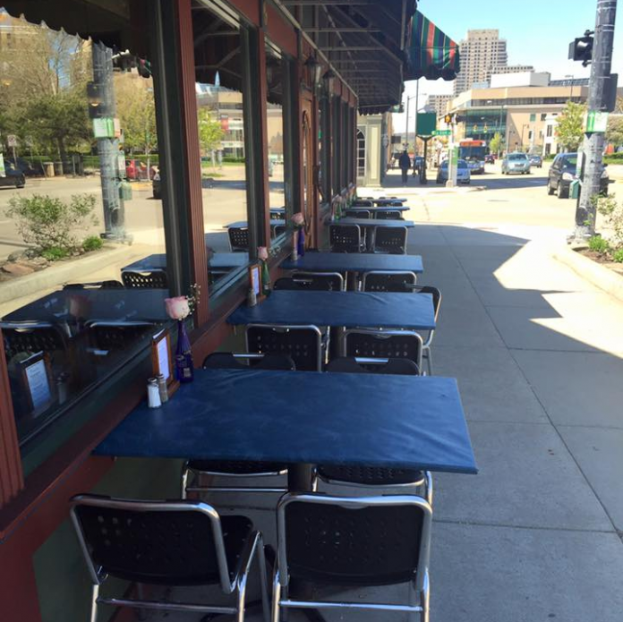 One Trick Pony patio seating